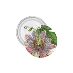 Passion Flower Flower Plant Blossom 1.75  Buttons