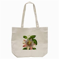 Passion Flower Flower Plant Blossom Tote Bag (Cream)
