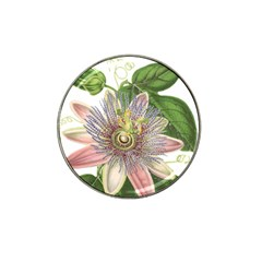 Passion Flower Flower Plant Blossom Hat Clip Ball Marker (4 pack)