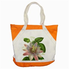 Passion Flower Flower Plant Blossom Accent Tote Bag