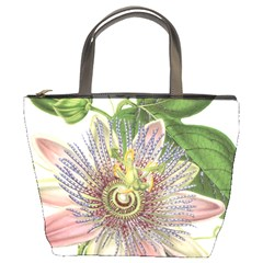 Passion Flower Flower Plant Blossom Bucket Bags