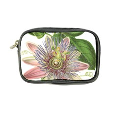 Passion Flower Flower Plant Blossom Coin Purse