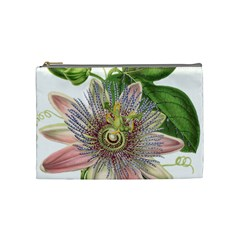 Passion Flower Flower Plant Blossom Cosmetic Bag (medium)