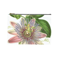 Passion Flower Flower Plant Blossom Cosmetic Bag (large)
