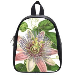 Passion Flower Flower Plant Blossom School Bags (Small)