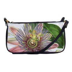 Passion Flower Flower Plant Blossom Shoulder Clutch Bags
