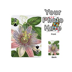 Passion Flower Flower Plant Blossom Playing Cards 54 (Mini)