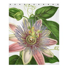 Passion Flower Flower Plant Blossom Shower Curtain 60  x 72  (Medium)