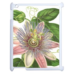 Passion Flower Flower Plant Blossom Apple iPad 2 Case (White)