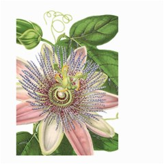 Passion Flower Flower Plant Blossom Small Garden Flag (Two Sides)