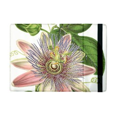 Passion Flower Flower Plant Blossom Apple iPad Mini Flip Case