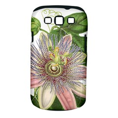 Passion Flower Flower Plant Blossom Samsung Galaxy S Iii Classic Hardshell Case (pc+silicone)