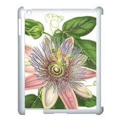 Passion Flower Flower Plant Blossom Apple Ipad 3/4 Case (white)