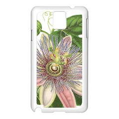 Passion Flower Flower Plant Blossom Samsung Galaxy Note 3 N9005 Case (white)