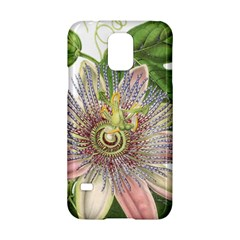 Passion Flower Flower Plant Blossom Samsung Galaxy S5 Hardshell Case
