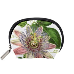 Passion Flower Flower Plant Blossom Accessory Pouches (Small)