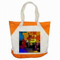 Abstract Vibrant Colour Accent Tote Bag
