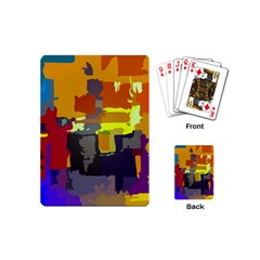Abstract Vibrant Colour Playing Cards (Mini)