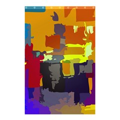 Abstract Vibrant Colour Shower Curtain 48  X 72  (small)