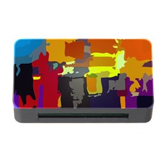 Abstract Vibrant Colour Memory Card Reader With Cf