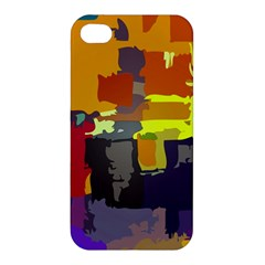 Abstract Vibrant Colour Apple Iphone 4/4s Premium Hardshell Case