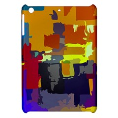 Abstract Vibrant Colour Apple Ipad Mini Hardshell Case