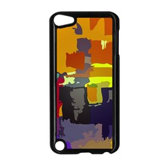 Abstract Vibrant Colour Apple iPod Touch 5 Case (Black)