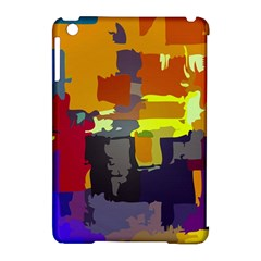 Abstract Vibrant Colour Apple iPad Mini Hardshell Case (Compatible with Smart Cover)