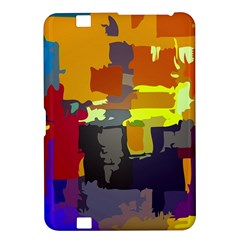 Abstract Vibrant Colour Kindle Fire HD 8.9