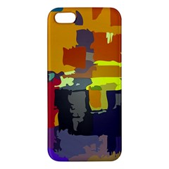 Abstract Vibrant Colour Apple iPhone 5 Premium Hardshell Case