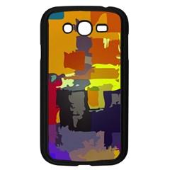 Abstract Vibrant Colour Samsung Galaxy Grand DUOS I9082 Case (Black)