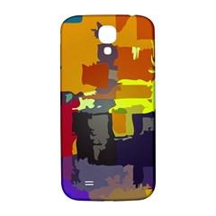 Abstract Vibrant Colour Samsung Galaxy S4 I9500/i9505  Hardshell Back Case