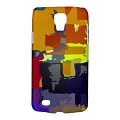 Abstract Vibrant Colour Galaxy S4 Active