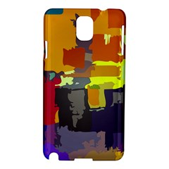 Abstract Vibrant Colour Samsung Galaxy Note 3 N9005 Hardshell Case