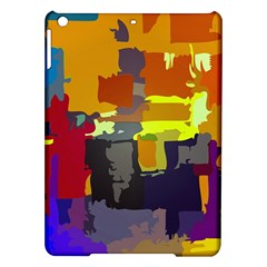 Abstract Vibrant Colour iPad Air Hardshell Cases