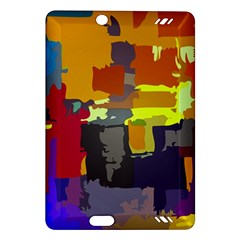 Abstract Vibrant Colour Amazon Kindle Fire Hd (2013) Hardshell Case