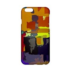 Abstract Vibrant Colour Apple Iphone 6/6s Hardshell Case