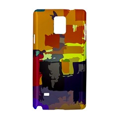 Abstract Vibrant Colour Samsung Galaxy Note 4 Hardshell Case