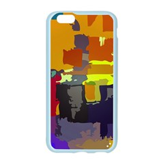 Abstract Vibrant Colour Apple Seamless iPhone 6/6S Case (Color)