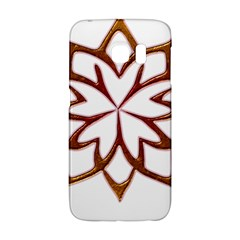 Abstract Shape Outline Floral Gold Galaxy S6 Edge