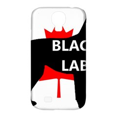 Black Lab Name Silo Canadian Flag Samsung Galaxy S4 Classic Hardshell Case (PC+Silicone)