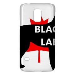Black Lab Name Silo Canadian Flag Galaxy S5 Mini