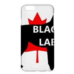 Black Lab Name Silo Canadian Flag Apple iPhone 6 Plus/6S Plus Hardshell Case