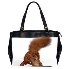 Squirrel Wild Animal Animal World Office Handbags (2 Sides)