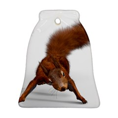 Squirrel Wild Animal Animal World Bell Ornament (Two Sides)