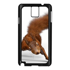 Squirrel Wild Animal Animal World Samsung Galaxy Note 3 N9005 Case (Black)