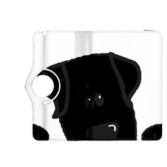 Black Lab Peeping Dog Kindle Fire HDX 8.9  Flip 360 Case