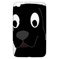Black Labrador Cartoon Samsung Galaxy Tab 3 (8 ) T3100 Hardshell Case