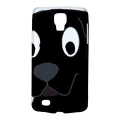 Black Labrador Cartoon Galaxy S4 Active