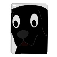 Black Labrador Cartoon iPad Air 2 Hardshell Cases
